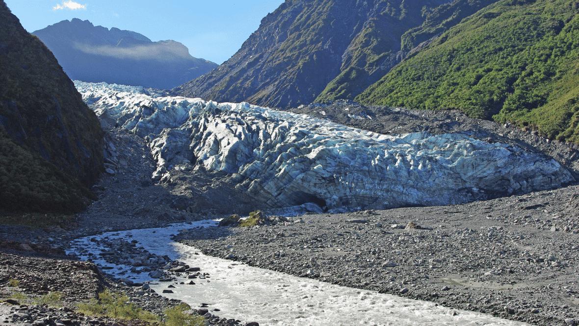 Franz Josef Glacier wandeling nieuw zeeland