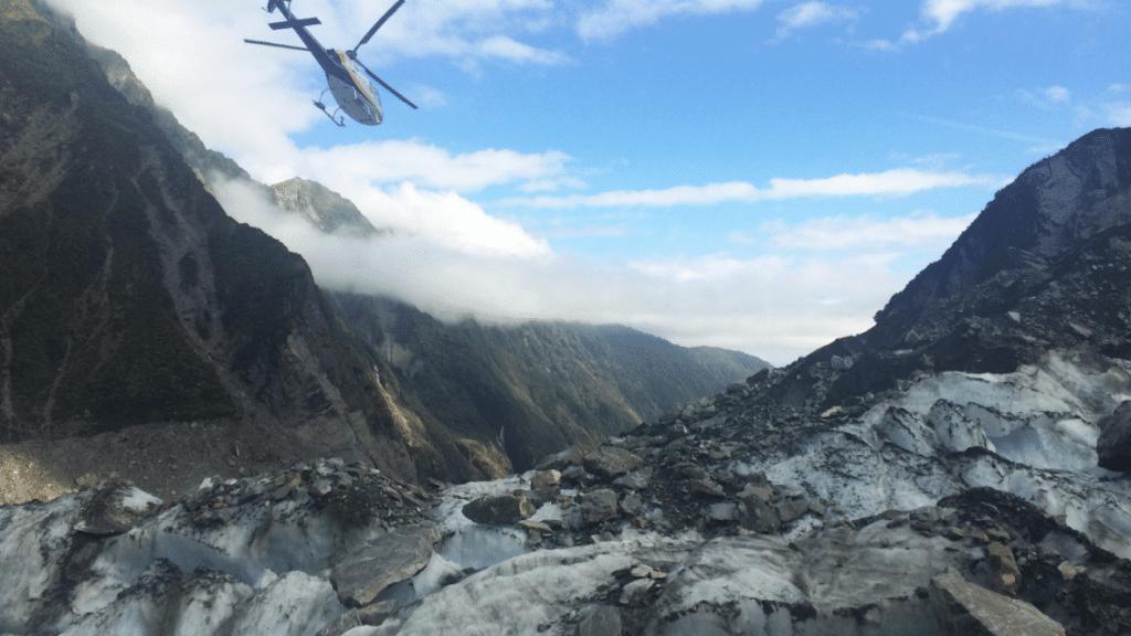Helikopter Franz Josef Glacier
