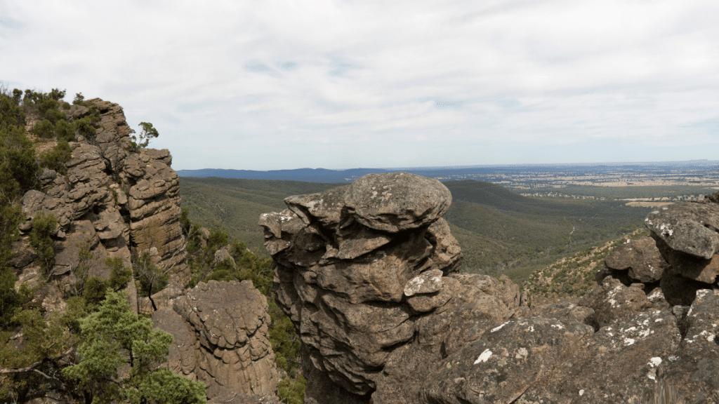 Uitzichtpunt Grampians bergbeklimmen
