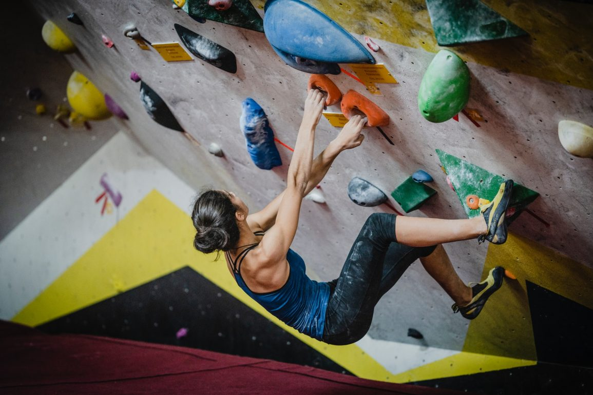Indoor boulderen in Nederland