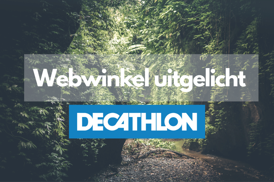 Decathlon online winkel