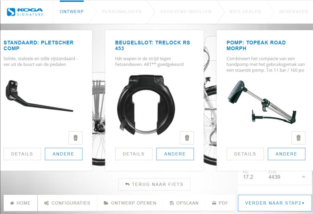 Koga Worldtraveller Signature accessoires kiezen