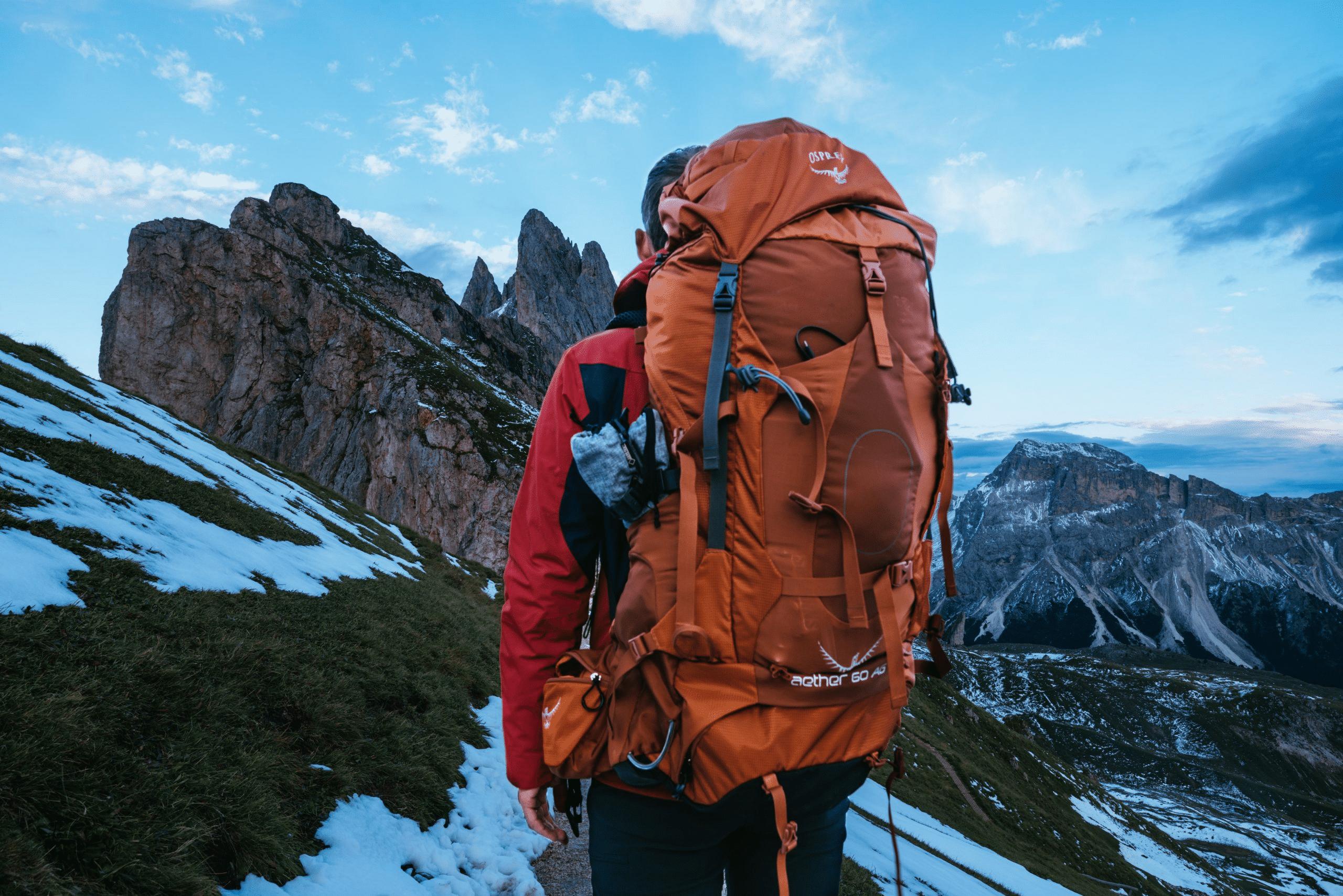 Backpack liter hoeveel