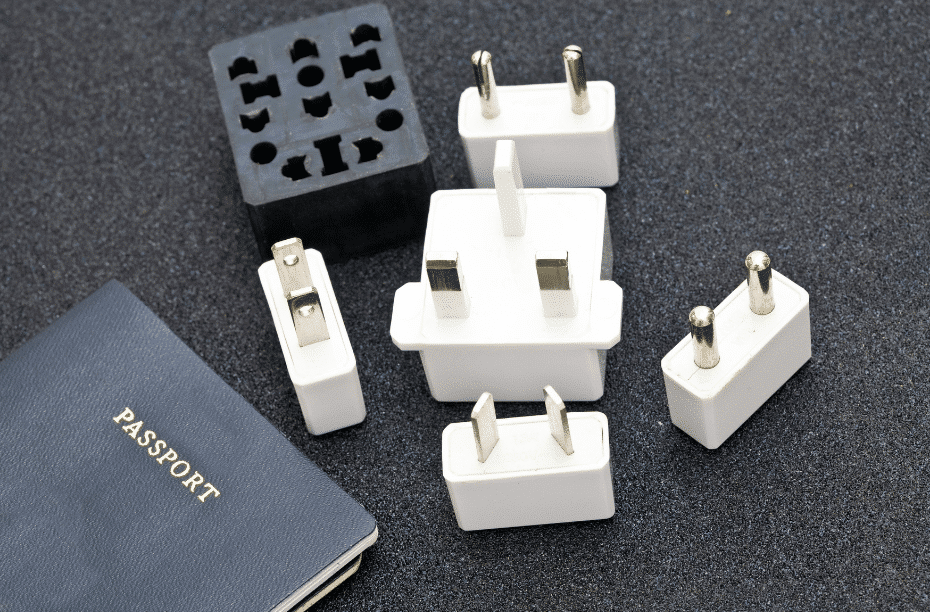 Losse plugs voor op reis