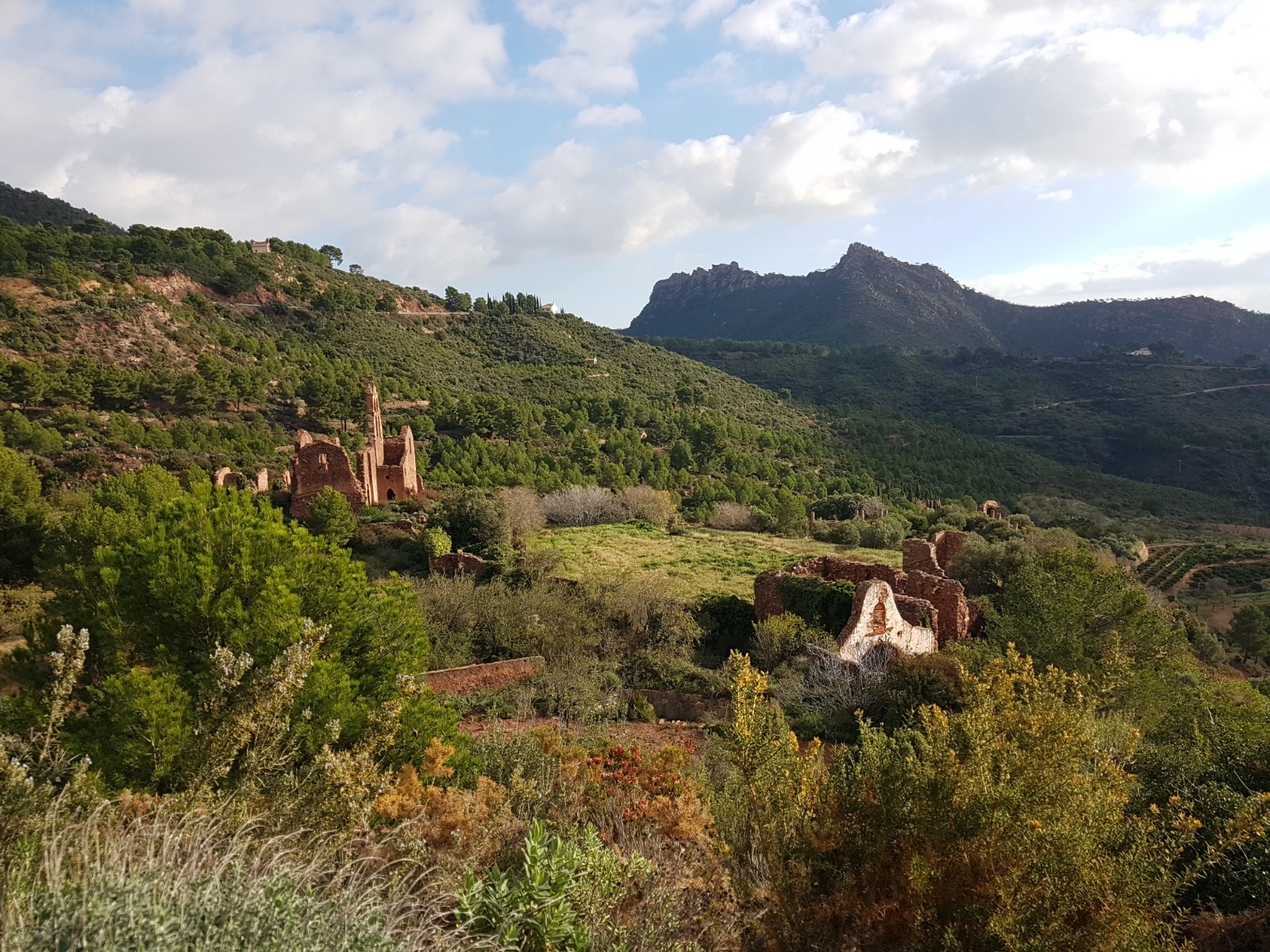 Desierto de las Palmas Desert de les palmes in Benicassim Spanje Castellon Valencia